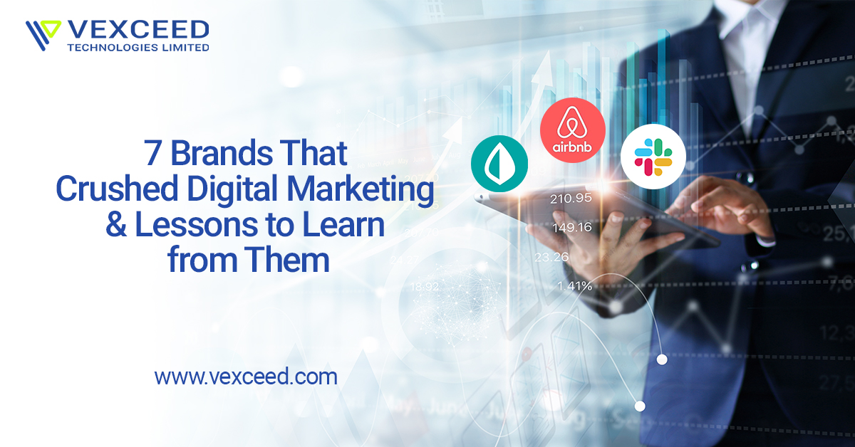 7 Brands That Crushed Digital Marketing & Lessons Learned